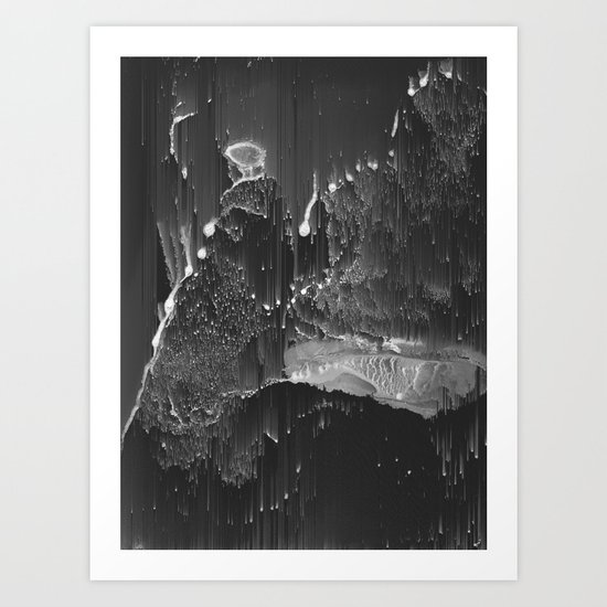 BURNING Art Print