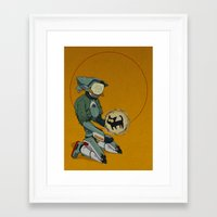 flcl Framed Art Prints featuring Canti+ by winterteeth