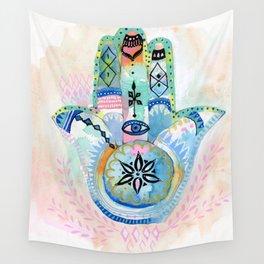 Morocco Hamsa Hand Wall Tapestry