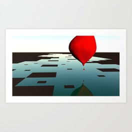Bloons Art Print