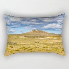 Patagonian Landscape Scene, Argentina Rectangular Pillow