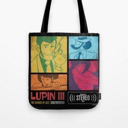 Lupin III Jazz Record Tote Bag