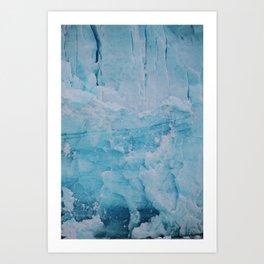 Glacier Closeup Art Print