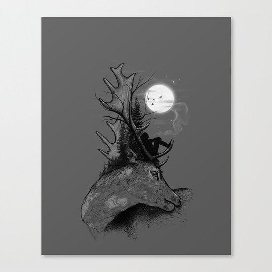 A Long December Canvas Print