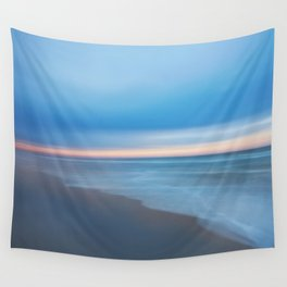 Painted Beach 2 Wall Tapestry