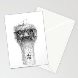Hippie Ostrich G098 Stationery Cards