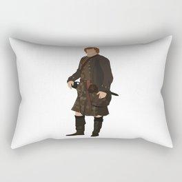 Jamie Fraser Rectangular Pillow