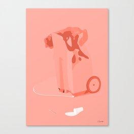 SMELTET Canvas Print