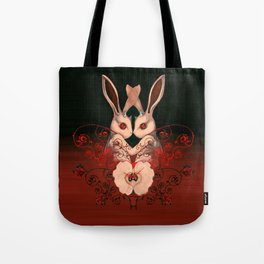 Rabbits of lust Tote Bag