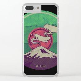 Mt. Fuji Clear iPhone Case