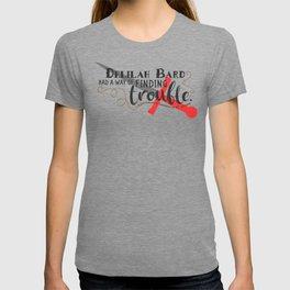 Finding Trouble (original) T-shirt