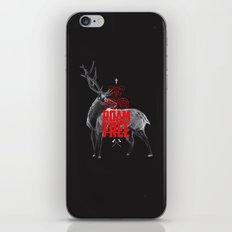 Roam Free iPhone & iPod Skin