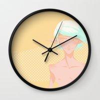 elf Wall Clocks featuring Elf by kkomi