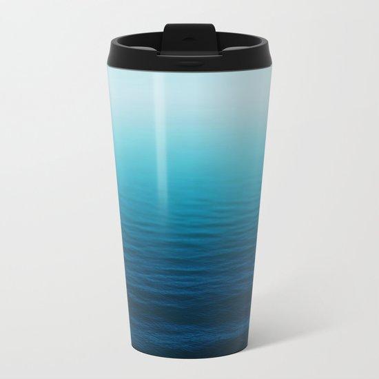 Deep Blue Sea Metal Travel Mug