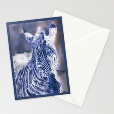 Zebra Oil Stationery Cards