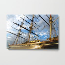 CUTTY SARK GREENWICH LONDON Metal Print