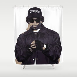 easy ee Shower Curtain