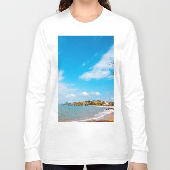 Landscape Recife Praia Long Sleeve T-shirt