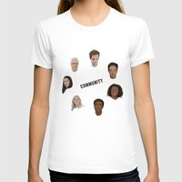 community T-shirts featuring Community Simple by mycolour