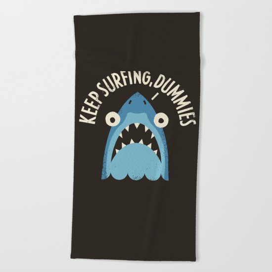 Great White Snark Beach Towel