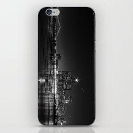 Detroit Skyline at night iPhone Skin