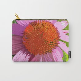 Echinacea, coneflower, purple pink flower Carry-All Pouch