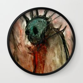 Wretched Zombie Filth Wall Clock