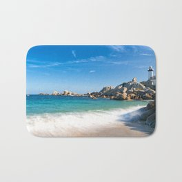 Pontusval Lighthouse 2 Bath Mat