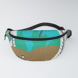 Platypus swim Fanny Pack