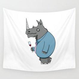 Rhino! Wall Tapestry