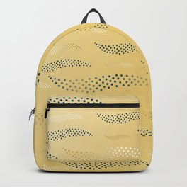 Waves / Tiger (stylized pattern) Backpack