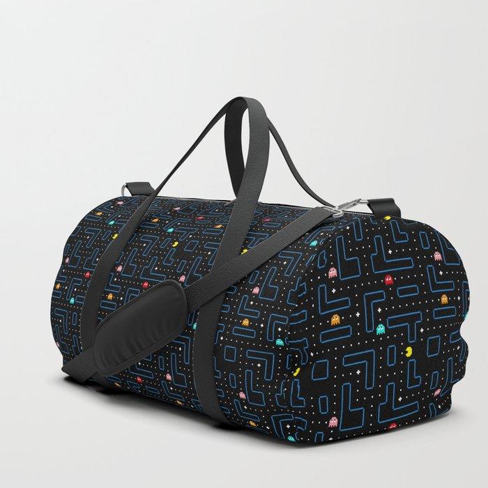 Pac-Man Retro Arcade Gaming Design Duffle Bag