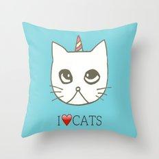 cat-397 Throw Pillow