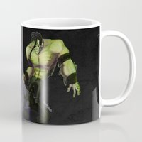 misfits Mugs featuring Misfits by Roe Mesquita