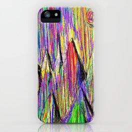 Colour Falls - Matt Texture 6 iPhone Case