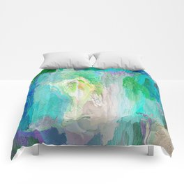 418 - Abstract Colour Design Comforters