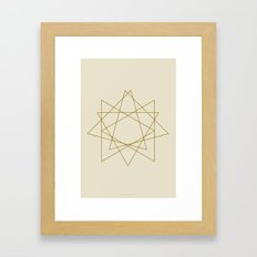 Geometric No.1 Framed Art Print