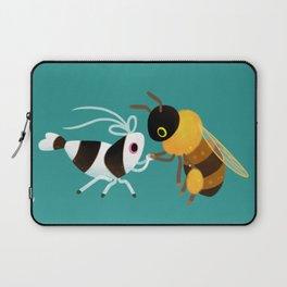 Bee & bee shrimp Laptop Sleeve