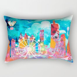 Chicago in the Summer Rectangular Pillow