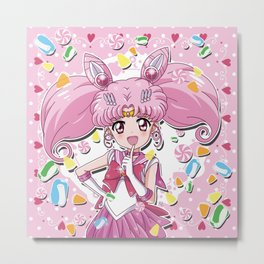 Sailor Candy Metal Print