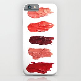 Lipsticks iPhone Case