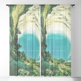 Infinite Nature Sheer Curtain