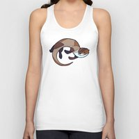 otter Tank Tops featuring Otter by Jemma Salume