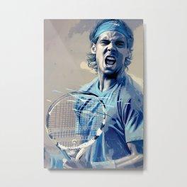 Rafa Nadal -Roger Federer Metal Print