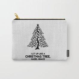 I lit up like a christmas tree, hazel grace TFIOS JOHN GREEN Carry-All Pouch