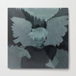 Winged Metal Print