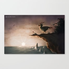"""I am a flightless bird…"" Canvas Print"