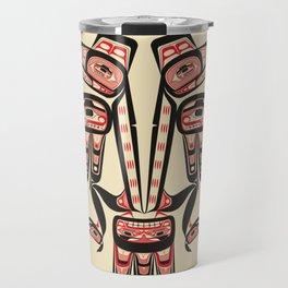 Salish Coast Twin Eagle Travel Mug