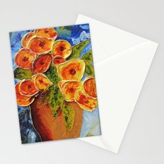 Lively garden | Jardin animé Stationery Cards