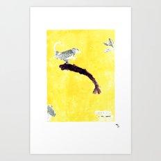 YellaBird | Portugal Domestic | Art Print